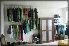 Storage Ideas For Our Clothes :)