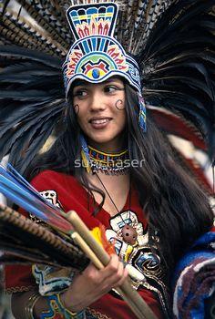 """""""Aztec Beauty"""" ,Mexico"""