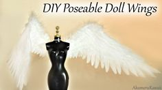 Hi guys! Today we're making these poseable doll wings :D I was inspired to make these, since so many of you have been requesting an angel doll repaint ^^ I m...