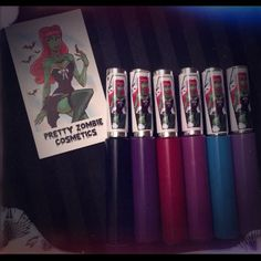 Pretty Zombie Cosmetics liquid lipsticks