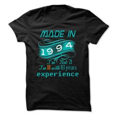 1994 not 21 T Shirts, Hoodies. Get it now ==► https://www.sunfrog.com/LifeStyle/1994-not-21.html?57074 $21.85