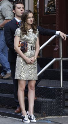 Blair.. many people dislike it, but i like this outfit - it's mysterious!