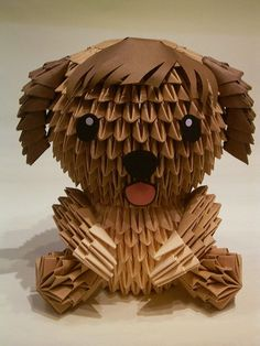 3D Origami - Little Puppy Dog