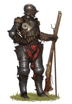 Musket Knight by ariel perez | Fantasy | 2D | CGSociety