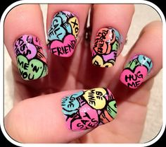 Nailed Daily: Valentines Day Sweethearts