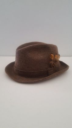 ebef44d4973ed Vintage 1960 s Dobbs Fifth Avenue long fur felt fedora