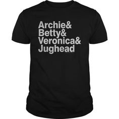 Archie Comics/Ampersand List - #retirement gift #gift exchange. WANT THIS => https://www.sunfrog.com/Geek-Tech/Archie-ComicsAmpersand-List-Black-Guys.html?68278