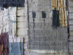 Matthew Harris. Cloth Construction detail. Pinned sections placed together before cutting and stitching
