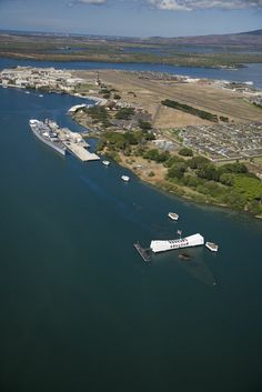 Pearl is the largest natural harbor in Hawaii and this US naval base is a National Historic Landmark. The surprise aerial attack on Pearl Harbor on December 7, 1941 resulted in 2,390 dead and hundreds wounded, and drove the United States into World War II.