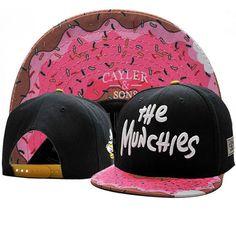 Men Munchies CAYLER SONS Snapback Adjustable Baseball Cap Hip hop ROCK BBOY  Hat c4fc8efe2fa