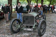 1913 Monarch Curtiss, Duncan Pittaway, Avenue Drivers Club, Queen Square, Bristol.