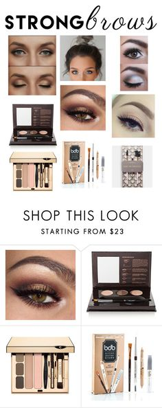 """Raise Your Brows"" by bestinfashion ❤ liked on Polyvore featuring beauty, Anastasia Beverly Hills, Clarins, Billion Dollar Brows, Odeme, BeautyTrend, strongbrows and boldeyebrows"