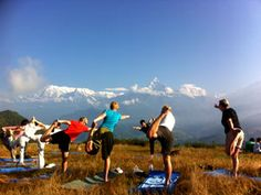 Nepal Yoga Trek - Sunrise Yoga Tour