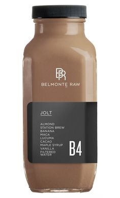 Jolt B4 - Belmonte Raw - Organic Raw Food and Juicery