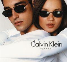 Kate Moss | Calvin Klein Eyewear ad (1999)