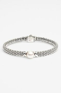 Lagos 'Luna' Pearl Rope Bracelet | Nordstrom
