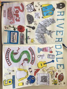 Riverdale Merch, Riverdale Funny, Bughead Riverdale, Riverdale Archie, Notebook Drawing, Notebook Doodles, Amazing Drawings, Easy Drawings, Emoji Drawings