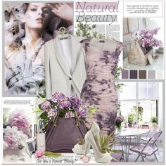 Natural Beauty, created by mizrose on Polyvore - I love this dress!