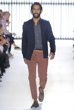 Paul Smith Spring 2012 Menswear Collection Slideshow on Style.com