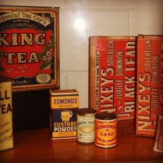Victorian Tea Boxes New Zealand Museum