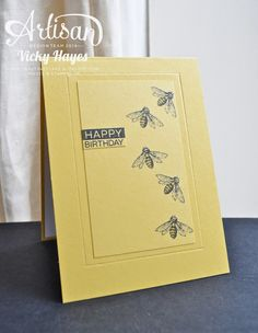 Stampin' Up ideas and supplies from Vicky at Crafting Clare's Paper Moments: Using my Stampin' Up stash to make a coordinated birthday gift set