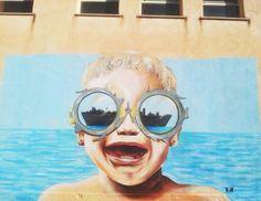 """Stop war"" Sicilia 2015 #children #war #crisis #kasart #graffiti #streetart"