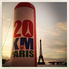 #boostbirhakeim - Le soleil se lève sur une nouvelle course - 20Km de Paris - @bbirhakeim