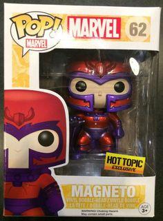 Hot Topic Exclusive Marvel X-Men Magneto POP Vinyl