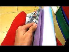 Ideas – Manualidades para el Día del libro y de Sant Jordi   La Mochila del Arco Iris Ideas Manualidades, Quiet Books, Notebooks, Youtube, Bow Braid, Cartonnage, Craft Tutorials, Paper Crafts, Backpack