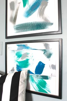 Home Paint Colors Abstract Art » Decor Adventures