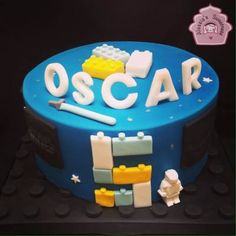 Lego Star Wars Cake for Oscar Star Wars-themed party for the boys
