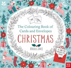 National Trust: The Colouring Book of Cards and Envelopes – Christmas