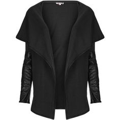 **Oversize Collar Cardigan by Wal G