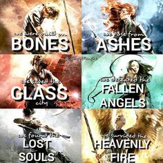 the mortal instruments, books, and tmi afbeelding