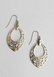 Veda Cutout Earrings