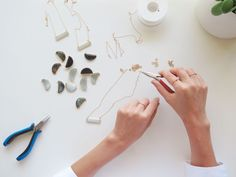 """""""Handmade jewelry is important because there is so much love that goes into every piece."""" -Sophie Alden"""