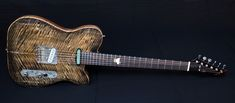 "Fontaneve ""il gatto"" Custom Guitars, Beautiful Hands, Music Instruments, Handmade, Hand Made, Musical Instruments, Handarbeit"