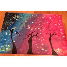 Pintura com tinta acrílica