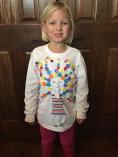 100 Days of School shirt with 100 buttons