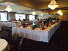 Hobart Education Foundation Raffle Fundraiser: Somerset and West Ballroom together hold up to 560 guests comfortably. These two room together are perfect for fundraisers, corporate events, and large galas!