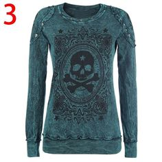 Chellysun Autumn Winter Punk Style Lace Long-sleeved Shirt - ChellysunEdgy punk outfits grunge style for school cute emo classy for girls summer for teens polvore #punk #rocks #shirts #tanktop #tank #tshirt #red #edgy #outfits #outfitideas #grunge #grungegirl #grungestyle #cute #emo #classy #girl #summerstyle #summer #teen #teenage #teeshirt #sale #onsale #shopping #onlineshopping #zara #hm #fashion #trending #skull #rose #americanstyle #streetstyle #cutetshirt