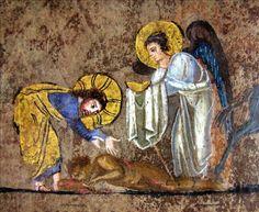 Parable of the good Samaritan - detail | Flickr - Photo Sharing! Codex purpureus rossanensis fol-7v