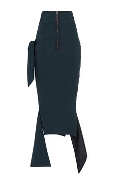 Cypher Panel Pencil Skirt by MATICEVSKI for Preorder on Moda Operandi