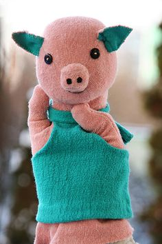 Piggy Hand Puppet | by Handmade Goodies