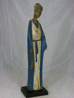 Superb Fine African Art Luba  Madona  Virgin Mary  Buy African Art, Collection of African Art, Masks, Artifacts, Tribal Arts and Tribal Masks and more.