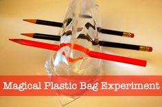 Magical Plastic Bag Experiment | TinkerLab
