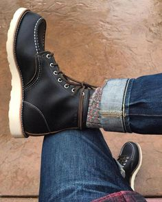 In Fashion Mens Coats Product Mens Lace Up Boots, Leather Boots, Denim Boots, Sock Shoes, Shoe Boots, Mens Suit Colors, Shoe Tattoos, Red Wing Boots, Mens Boots Fashion