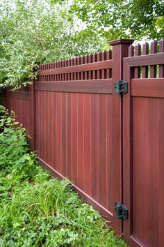 Backyard Fence Ideas 20 amazing ideas for your backyard fence design Images Of Illusions Pvc Vinyl Wood Grain And Color Fence