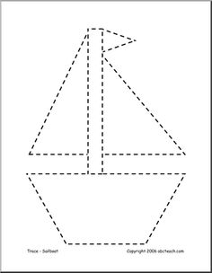 12 Best Images of Sail Boat Printable Shapes Worksheets - Sailboat Templates Printable, Boat Worksheet Shapes and Boat Crafts for Preschoolers Shapes Worksheets, Tracing Worksheets, Preschool Worksheets, Preschool Learning Activities, Vocabulary Activities, Preschool Activities, Japanese Language, Spanish Language, French Language