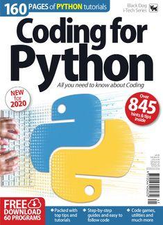 Coding for Python Vol 37 Python Programming Books, Basic Computer Programming, Computer Coding, Learn Programming, Programming Languages, Computer Science, Computer Lessons, Computer Books, Pi Computer